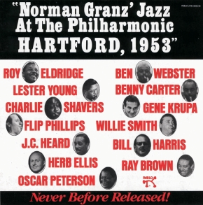 NORMAN  GRANZ'  JAZZ  AT THE PHILHARMONIC,  HARTFORD, 1953
