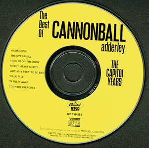 The Best Of Cannonball Adderley