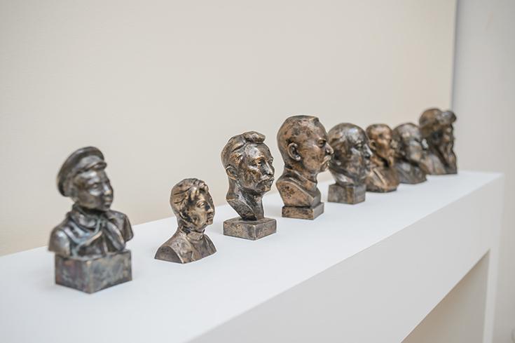 Ербосын Мельдибеков. Автопортрет с моими кумирами, 2014-2015