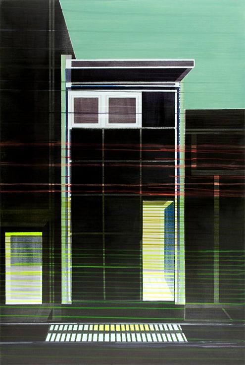 Сесиль ван Ханья, Открытый дом, живопись, Нидерланды