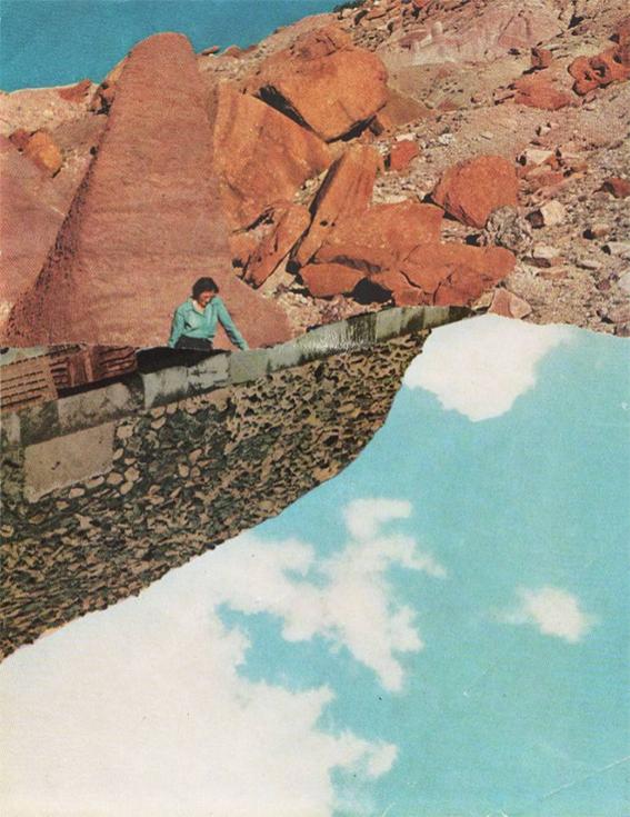Даниэле Вилла, Будущие воспоминания, коллаж. Италия
