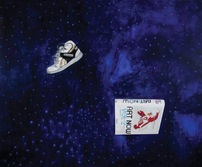 """Рене Бахрах Кристофик """"Искусство в космосе"""", живопись. Хорватия"""