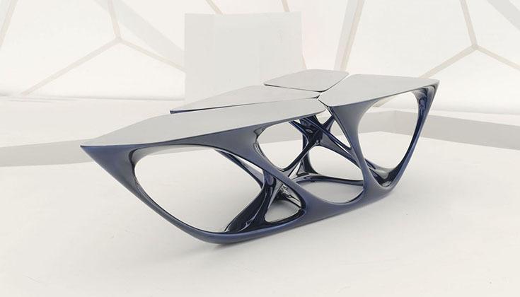 "Стол ""Meta"", дизайн Захи Хадид"