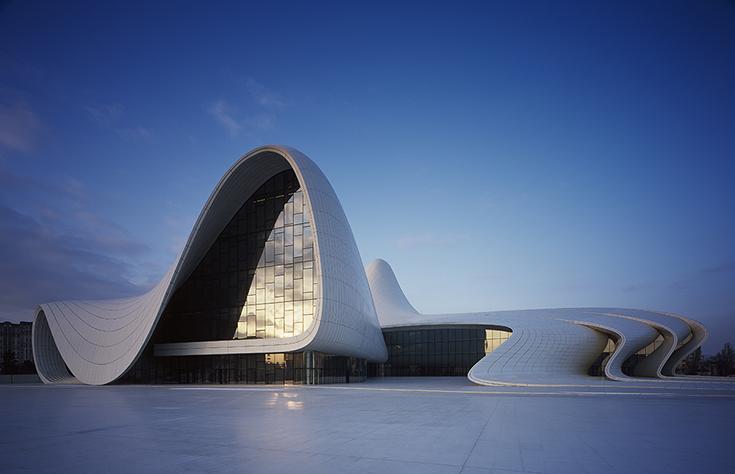 Центр Гейдара Алиева в Баку. Zaha Hadid Architects, 2014