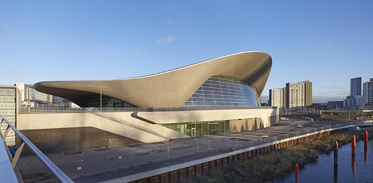 Центр водных видов спорта в Лондоне. Zaha Hadid Architects, 2014