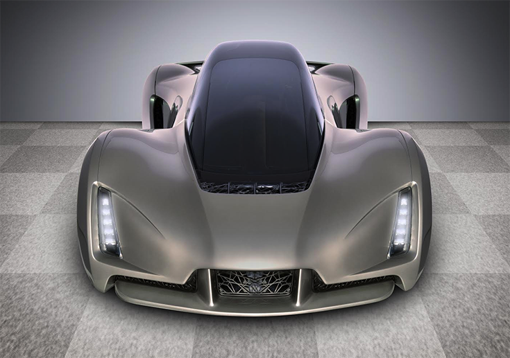 Автомобиль Blade, распечатанный на 3D-принтере