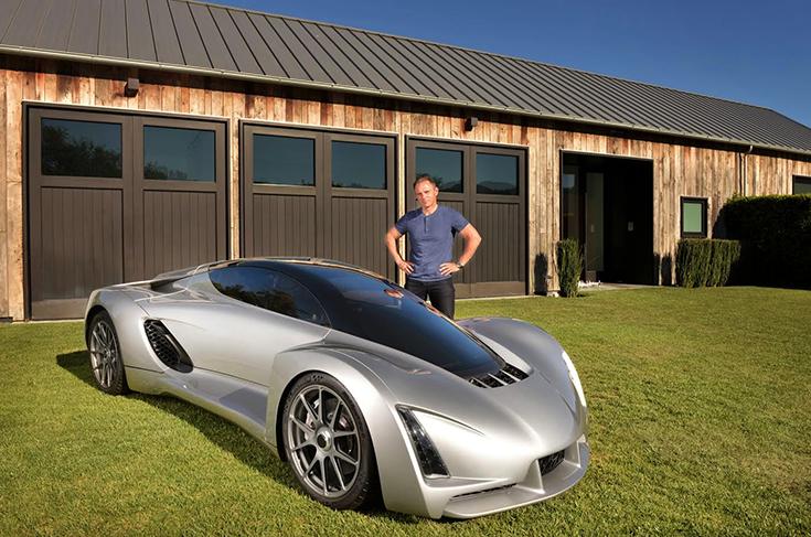 Первый автомобиль, распечатанный на 3D-принтере