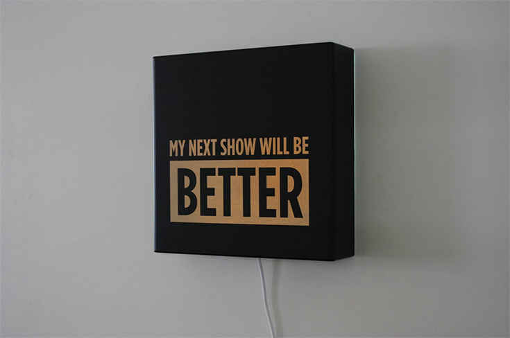 Andy Clover - My next show will be better