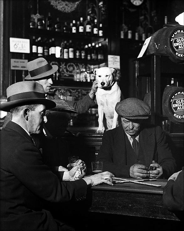 Билл Брандт. Игроки в домино в Северном Лондоне, 1930-е годы