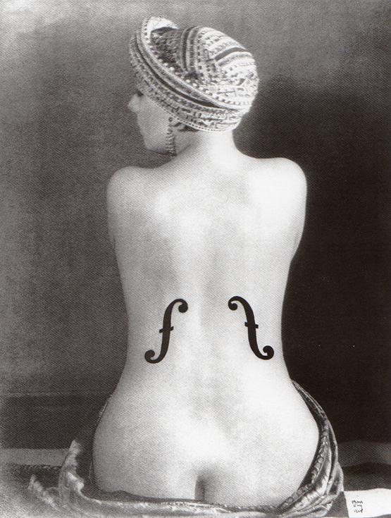 Ман Рэй. Скрипка Энгра, 1924
