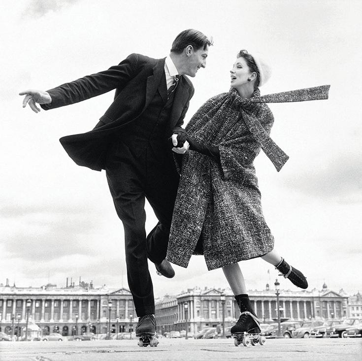 Ричард Аведон. Площадь Согласия. Париж, 1956