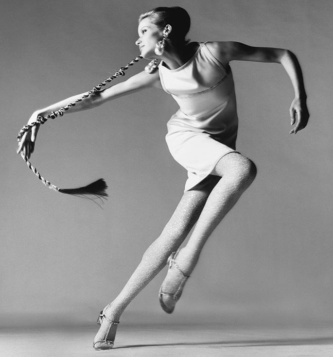 Ричард Аведон. Съемка Верушки для Vogue, 1967