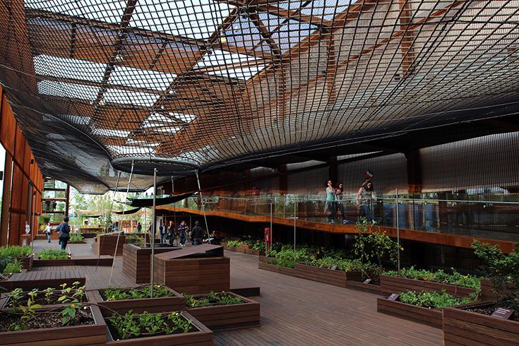 Павильон Бразилии на EXPO-2015 в Милане, архитектор Артур Касас
