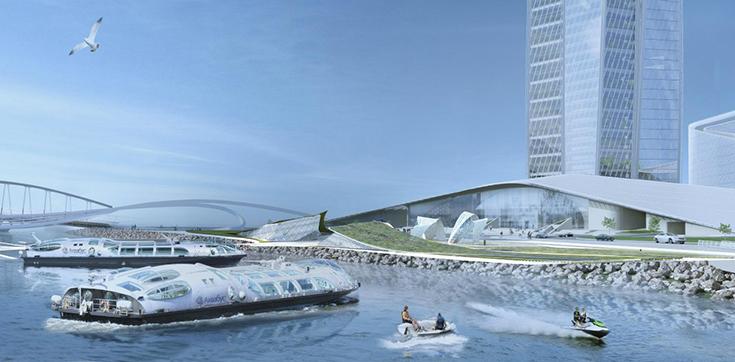 Проект Лахтинской набережной