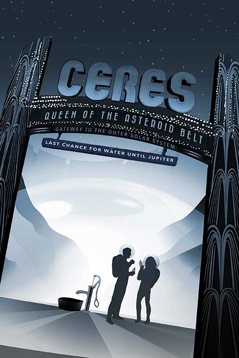 Церера - королева пояса астероидов