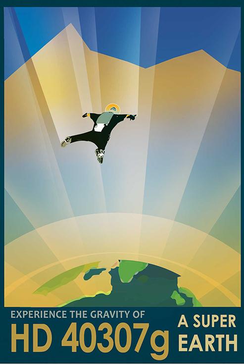 Почувствуй силу притяжения супер-Земли