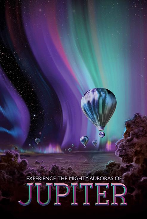 Рассветы на Юпитере