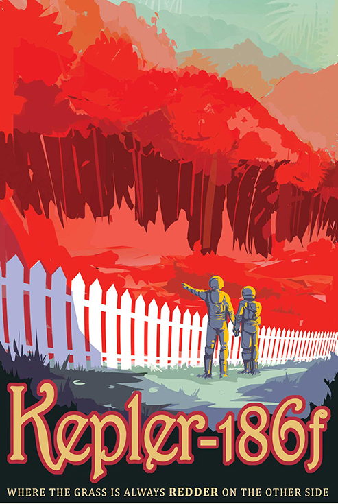 Kepler-186f - где трава краснее