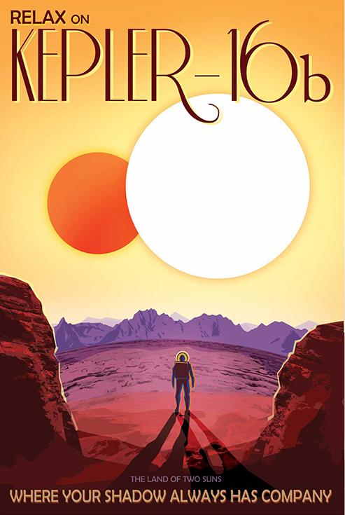 Расслабься на Kepler-16b