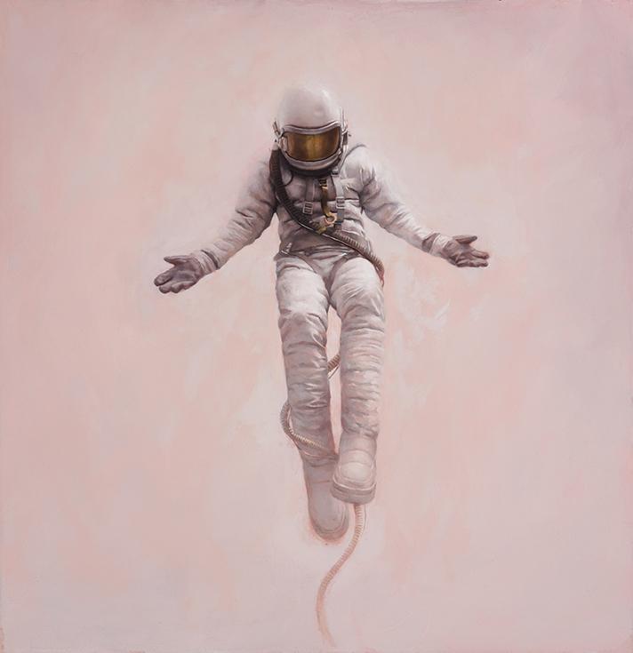 Меланхолические космонавты в живописи Джереми Геддеса