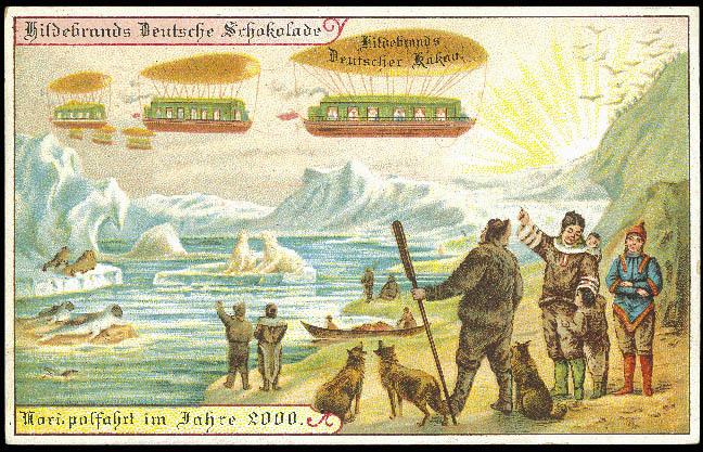 Поездка на Северный полюс в 2000 году