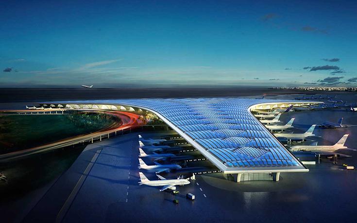 Проект аэропорта в Кувейте бюро Foster & Partners