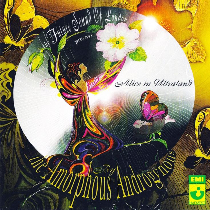 Обложка альбома Amorphous Androgynous «Alice in Ultraland»