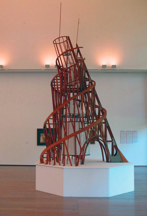 Реконструкция Башни Третьего Интернационала, Центр Жоржа Помпиду, Париж.