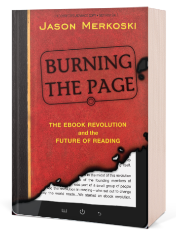 Jason Merkoski. Burning the page