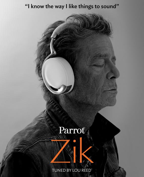 Лу Рид в наушниках Parrot Zik