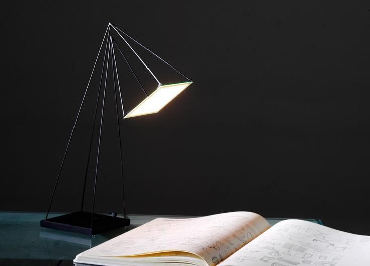 OLED лампа, разработанная Мауро дель Санто и Эли Розенбергом