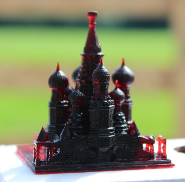 Модель, распечатанная на 3D-принтере