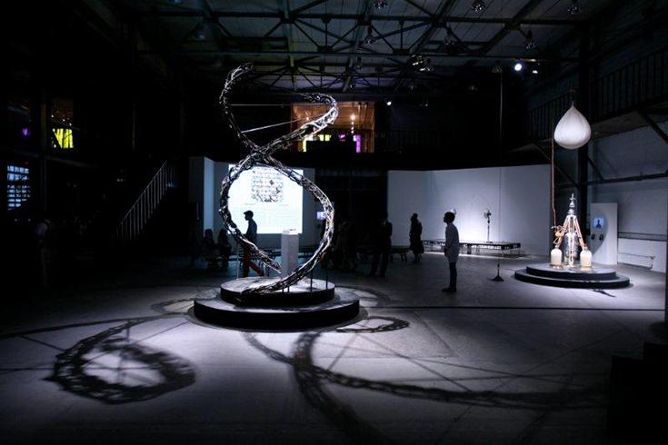 «DNASA», 2012 - Интерактивная многоканальная звуковая инсталляция Дмитрий Морозов aka ::vtol::