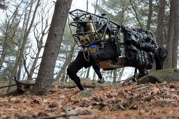 Робот-мул LS3, разработанный DARPA
