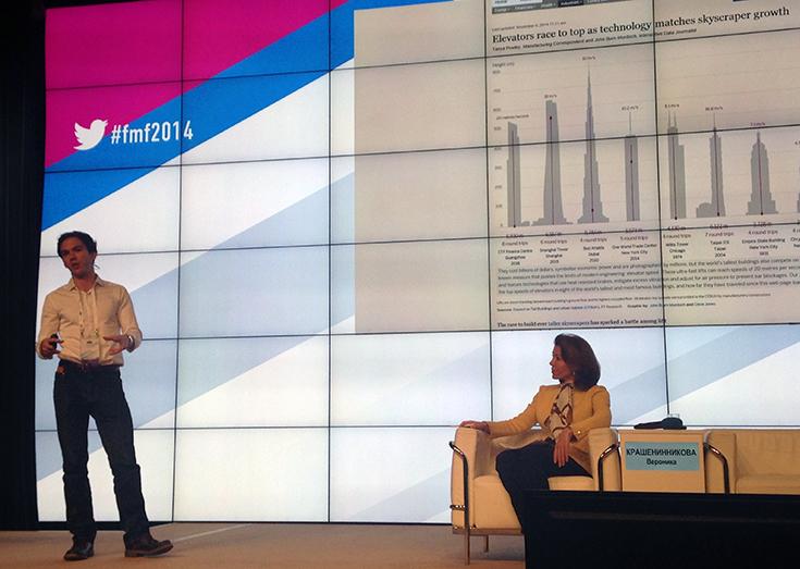 Выступление Джона Берн-Мердока об интерактивном отделе Financial Times