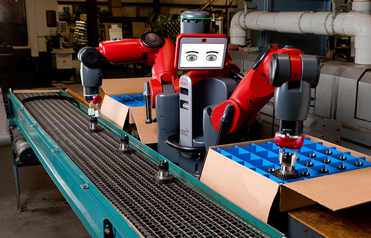 Робот Baxter от Rethink Robotics