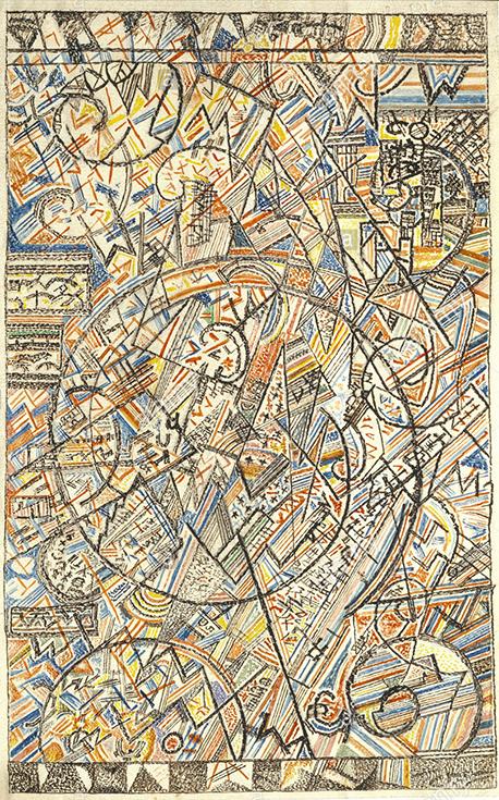 Павел Филонов. Формула вселенной, 1920-28