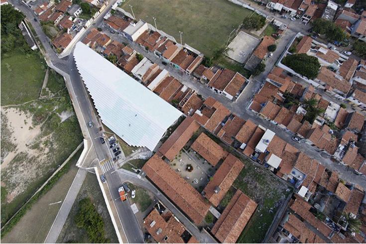 Arena de Morro в городе Натал, Бразилия