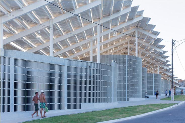 Arena de Morro в городе Натал, Бразилия. Архитекторы Жак Герцог и Пьер де Мерон