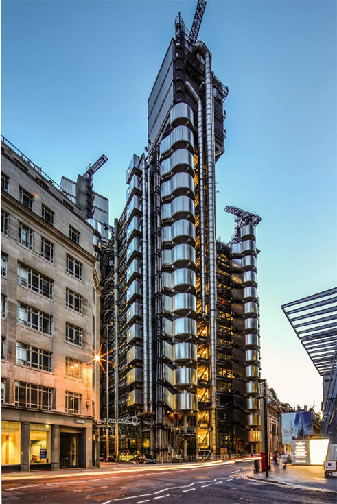 Здание Lloyds of London. Фото Edmon Leong