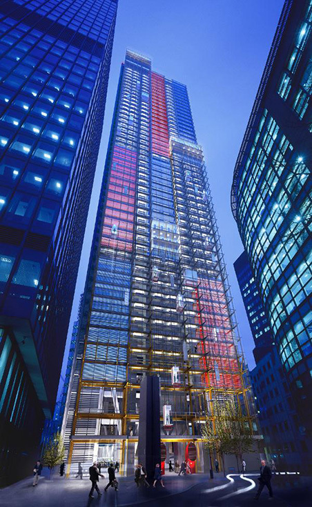 Leadenhall Building архитектора Ричарда Роджерса