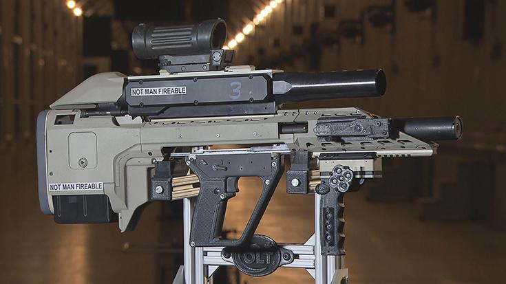 Прототип канадской штурмовой винтовки