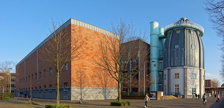 Альдо Росси. Здание художественного музея Боннефантенмузеум в Маастрихте, Нидерланды, 1995