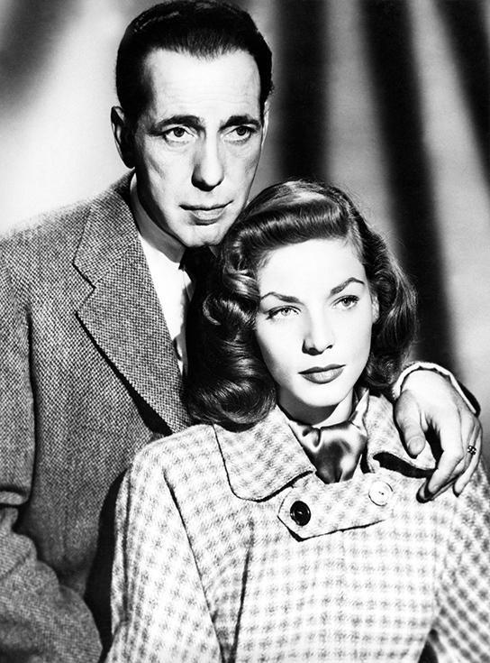 Семейная фотография Хамфри Богарта и Лорен Бэколл