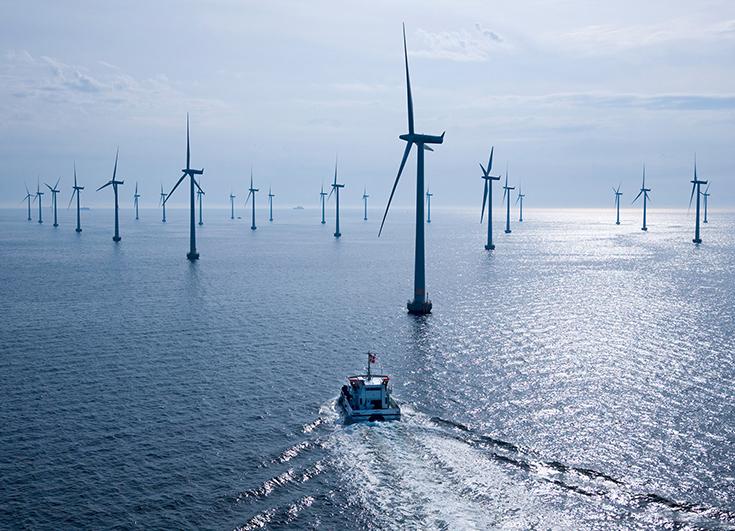 Ветряные электростанции в Лиллгрунде, Дания