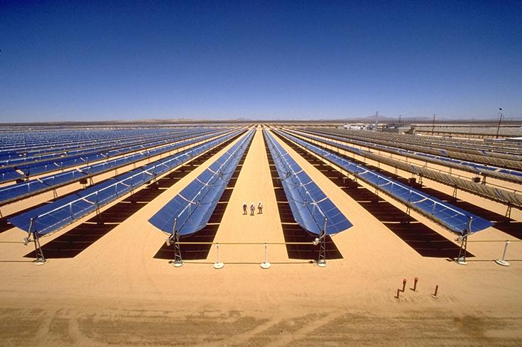 Солнечная электростанция в Саудовской Аравии