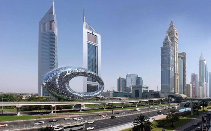 Проект Музея будущего в Дубае
