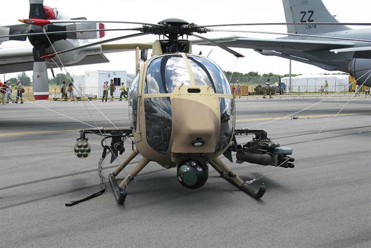 Военный беспилотник Boeing Unmanned Little Bird