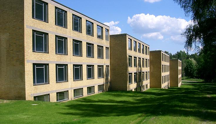 Здания школы Профсоюзов в Бернау Ханнеса Мейера, 1928-1930