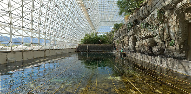 Biosphere-2. Искусственно созданный коралловый риф